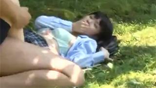 野外セックス_JK_カップル_盗撮画像06