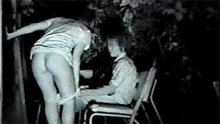 赤外線カメラ_野外セックス_深夜公園_盗撮画像02