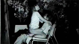 赤外線カメラ_野外セックス_深夜公園_盗撮画像04