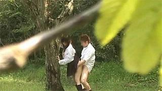 JK_青姦_公園_フェラ_着衣セックス_盗撮画像03
