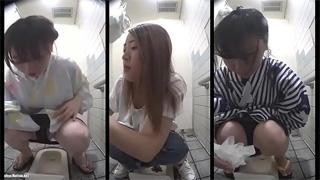 公衆トイレ_和式便所_浴衣_オシッコ_盗撮画像06