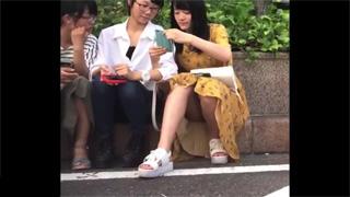 JC_ロリ少女_座りパンチラ_パンツ_盗撮画像05