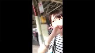 スカート捲り_パンチラ_美女_素人_盗撮画像03