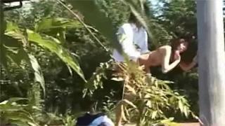 野外セックス_学生カップル_公園_盗撮画像05