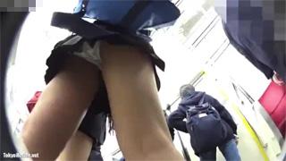 パンチラ_JK_駅ホーム_電車_店内_盗撮画像04