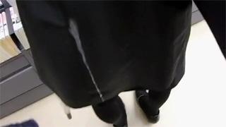 痴漢_本屋_素人_ぶっかけ_精子_盗撮画像06