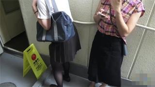 お漏らし_放尿_JK_制服_パンスト_盗撮画像02
