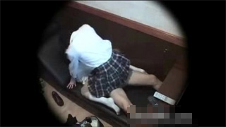 ネットカフェ_JK_カップル_セックス_盗撮画像05