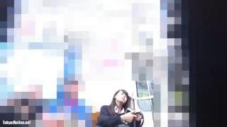 逆さ撮り_電車_女子校生_パンツ_盗撮画像01